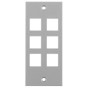 Hubbell-Wiring Kellems HBLAMP313SGY FACEPLATE, SCREW