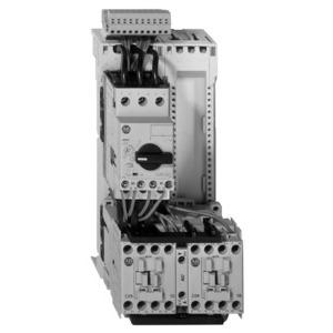 Allen-Bradley 107S-ATEJ3-CB25C Starter, IEC Combination, Reversing, 1.6 - 2.5A, 24VDC Coil, Open