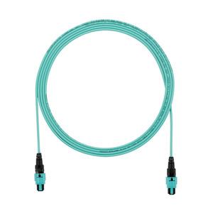 Panduit FZTRP7N7NANM001 OM4 12-fiber, interconnect, plenum, PanM