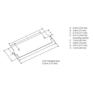 Lutron CFL-BEA-BK Enclosure Adapter Kit