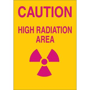 25272 RADIATION & LASER SIGN