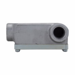 "Cooper Crouse-Hinds OELR2 Conduit Body, Type OELR, Size: 3/4"", Explosionproof, Iron Alloy"