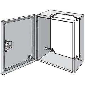 "nVent Hoffman LP2520 Panel For Enclosure, Inline Series, 9.10"" x 7.13, Steel"