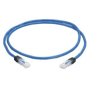 Panduit UPPBU10 Zone Cord, Cat 6 UTP Solid Plenum Blue C