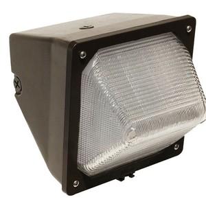 Morris Products 71435 LED Wall Pack, 100 – 277VAC, 30W, Aluminum/Bronze Housing