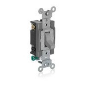 Leviton 1080-GY LEV 1080-GY SPST LOW VOLTAGE TOGGLE