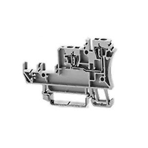 Allen-Bradley 1492-LS2-3 Terminal Block, 10A, 5 - 30V, AC/DC, Plug-In, Sensor, Gray, 1.5mm
