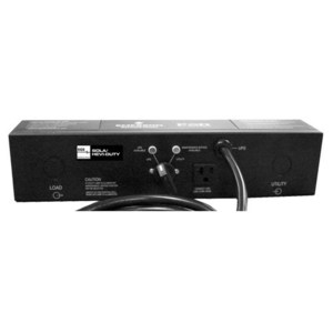 Sola Hevi-Duty A2D130HW Bypass Switch, for UPS, 30A, 2U Rack Mount, 3 Position