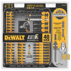 DEWALT DWA2T40IR 40 Piece Impact Ready Screwdriving Kt, Limited Quantities Available