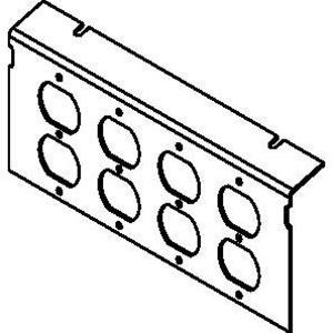 Wiremold P10105-4DP Ac10105 Plate For 4 Dup Dev Kos