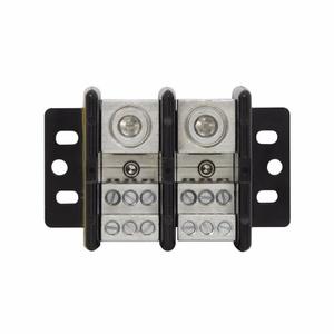 Eaton/Bussmann Series 16023-2 Power Distribution Block, 2-Pole, Single Primary - Multiple Secondary