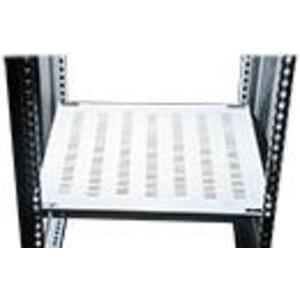 "Hoffman PFSH66 Rack, Frame Shelf, Vented, 19.68"" D x 21.57"" W, Gray"