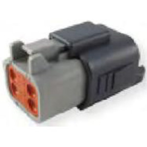 LADD Industries DT06-3S DT Series Connector for Dust Cap