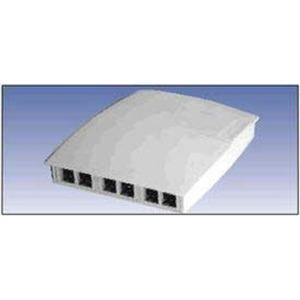 A0643205 6-PORT MDVO MULTIMEDIA BOX GREY