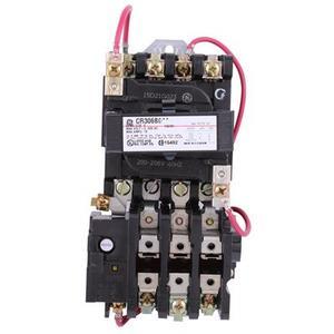 ABB CR306B023 Starter, Magnetic, NEMA Size 0, 3PH, 208VAC Coil, 600VAC, 18A, Open
