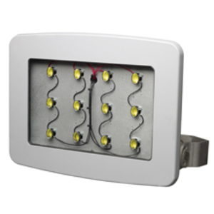 PFM13LCY/UNV1 76 LED FLD COOL GLASS LENS