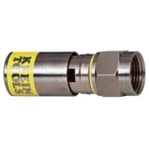 Klein VDV812-612 Universal F Compression Connector, RG6/6Q, 50-Pack