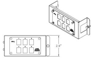 ON-Q AC1001 Legrand AC1001