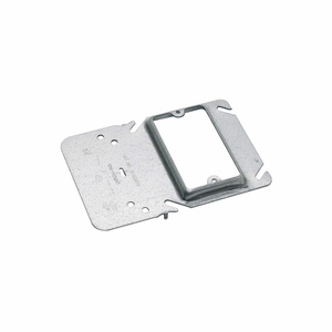 Cooper B-Line BB40-10 Mounting Bracket, 1-Gang, Box Support/Cover Plate