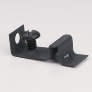 Cooper B-Line BB27 Box Mounting Clip with Screw, For Use With BA12 Series, Metallic