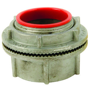 """Cooper Crouse-Hinds STA4 Conduit Hub, Insulated, Size: 1-1/4"""", Material: Aluminum"""