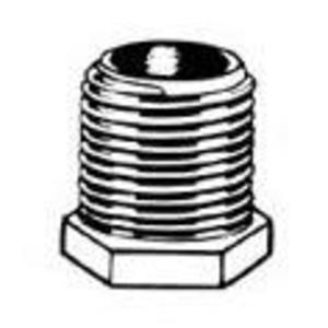 "Thomas & Betts HA-211 Chase Nipple, 1/2"", Die Cast Zinc"