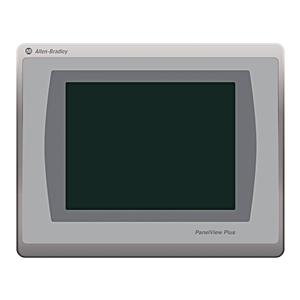 "Allen-Bradley 2711P-T7C22D9P Operator Interface, 7"" Color, Touch Screen, 24VDC, DLR Ethernet"