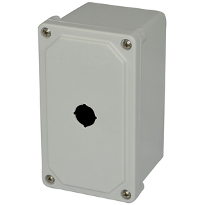 "Allied Moulded AM1PB22 Switch Box, 1-Device, 3.13"" Deep, Non-Metallic"