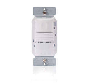 Wattstopper PW-100-W PIR Occupancy Sensor/Switch, White