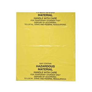 "BAG104 BAG104 BAG-YELLW,26""X31"",4ML. 20,"