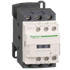 Square D LC1D09B7 Contactor, Definite Purpose, 9A, 3P, 600VAC, 300VDC, 24VAC Coil