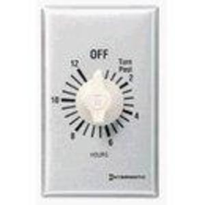 Intermatic FF6H Time Switch, 6-Hour, SPST, Brushed Aluminum/Sandstone
