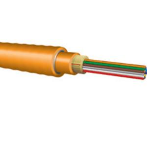 Optical Cable DX006KSLX9YP Distribution ILA-Interlocking Armored Plenum, 6 Fiber, SM ITU-T, G.652.D