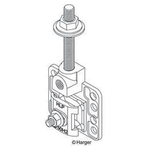 Harger Lightning & Grounding A156-6 1/2x6 Al Concealed Base