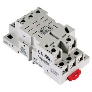 SE Relays 70-783D11-1A Mounting Socket, 11 Blade, Screw Terminals, DIN Rail Mount