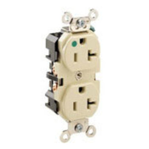 8300-GY GY REC DUP HG 2P/3W 20A125V