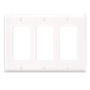 80411-W WHITE 3G DECORA PLATE