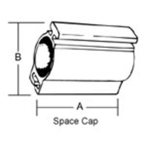 "Thomas & Betts BR-501 1/2"" Space Cap,rgd/imc,nm"