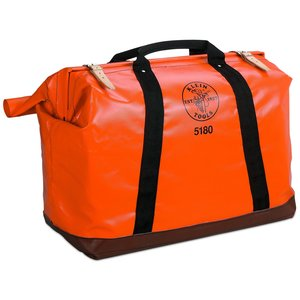 Klein 5180 X-Large Nylon Equipment Bag - Orange