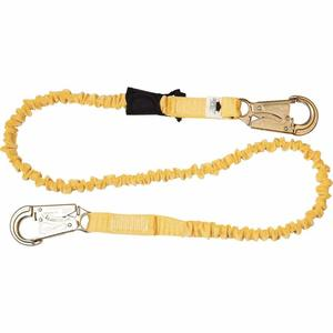 Werner Ladder C351100 6' SoftCoil Single Leg Lanyard