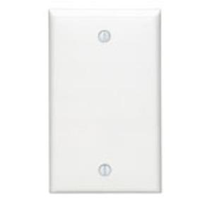 80714-W WH WP 1G BLANK BOX MNT PLASTIC
