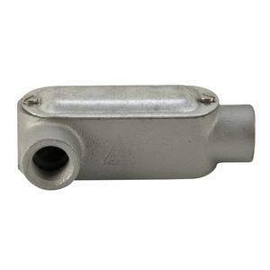 "Appleton LRL50M Conduit Body, Type: LRL, Form 35, 1/2"", Malleable Iron"