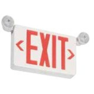Philips - Light To Go PVLLCR2R Exit Sign, Red Lettering, 3.6V