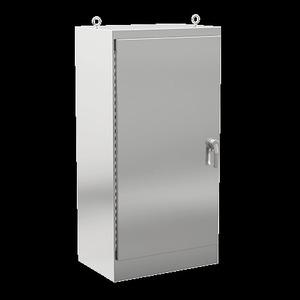 Hoffman JOBH4718 Free-Standing Enclosure, Two-Door Single Access