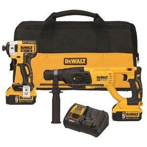 DEWALT DCK233P2 SDS Rotary Hammer/Impact Driver Kit