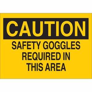 22597 EYE PROTECTION SIGN