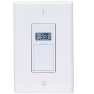 Intermatic EJ600 In-Wall Timer, 7-Day, White