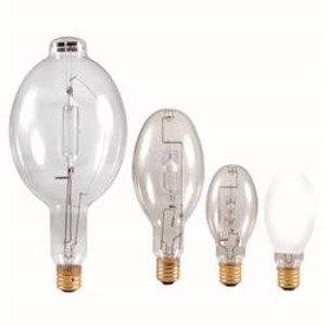 SYLVANIA MS360/SS/BU-HOR/ED37 Metal Halide Lamp, Energy Saving, ED37, 360W, Clear