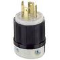 2711 30A 125/250V 3P4W BL SG LOCK PLUG