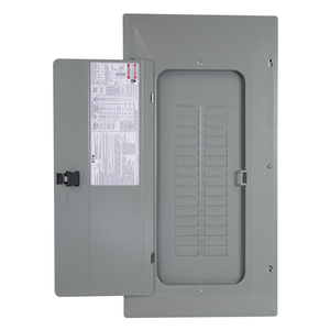 Eaton BRP30NC200 Load Center, Convertible, 200A, 120/240V, 1P, 30/60